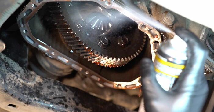 Astra G CC (T98) 1.7 DTI 16V (F08, F48) 2001 Huile De Transmission et Huile Boite De Vitesse manuel d'atelier pour remplacer soi-même