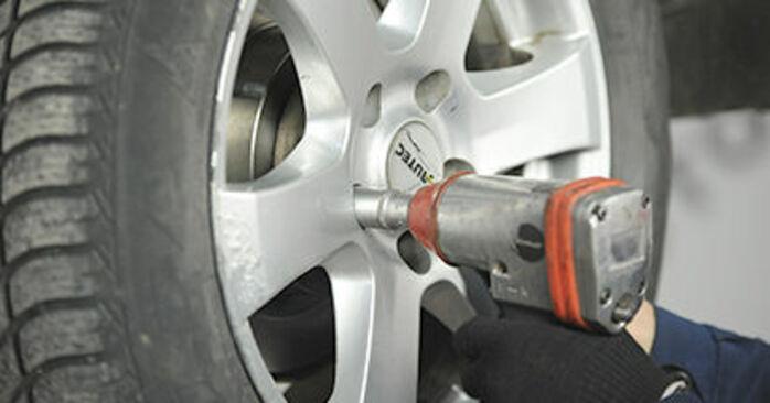 Wie Bremsbeläge Nissan X Trail t30 2.2 dCi 4x4 2001 tauschen - Kostenlose PDF- und Videoanleitungen