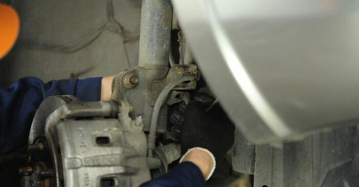 Ako dlho trvá výmena: Horné Uloženie Tlmiča na aute Nissan X Trail t30 2009 – informačný PDF návod