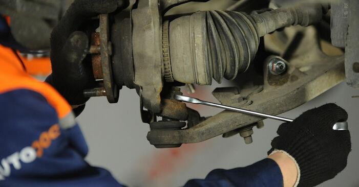 Stufenweiser Leitfaden zum Teilewechsel in Eigenregie von Nissan X Trail t30 2001 2.2 dCi Radlager