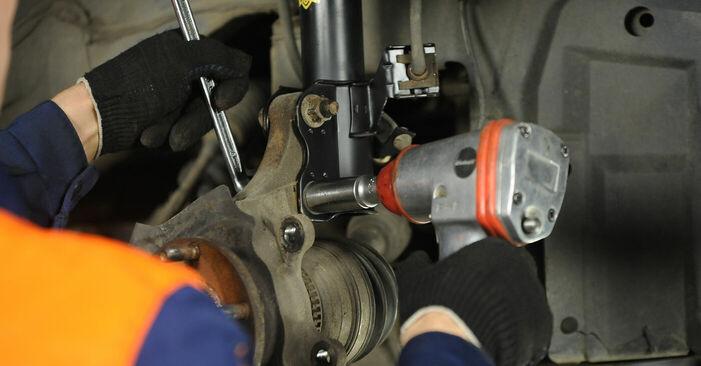 Wie Radlager beim Nissan X Trail t30 2001 gewechselt werden - Unentgeltliche PDF- und Videoanweisungen