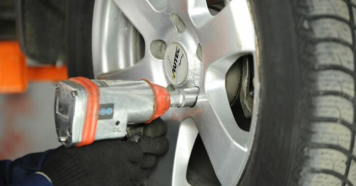 Nissan X Trail t30 2.2 Di 4x4 2003 Radlager austauschen: Unentgeltliche Reparatur-Tutorials
