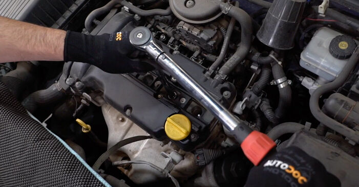 ASTRA G Hatchback (F48_, F08_) 1.7 DTI 16V (F08, F48) 2009 1.6 (F08, F48) Zündkerzen - Handbuch zum Wechsel und der Reparatur eigenständig