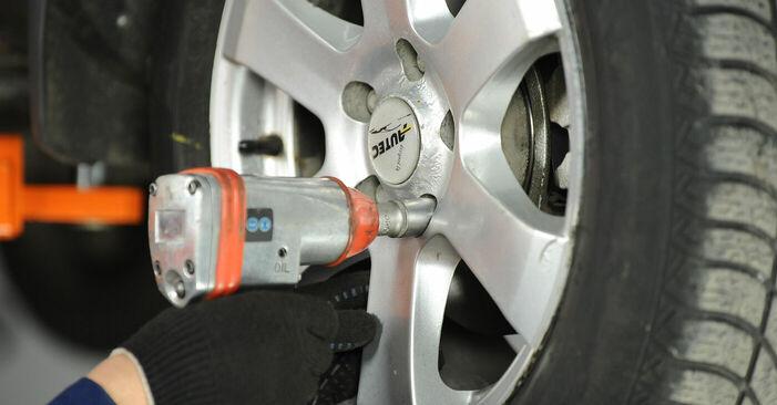 Querlenker Ihres Nissan X Trail t30 2.2 dCi 4x4 2009 selbst Wechsel - Gratis Tutorial
