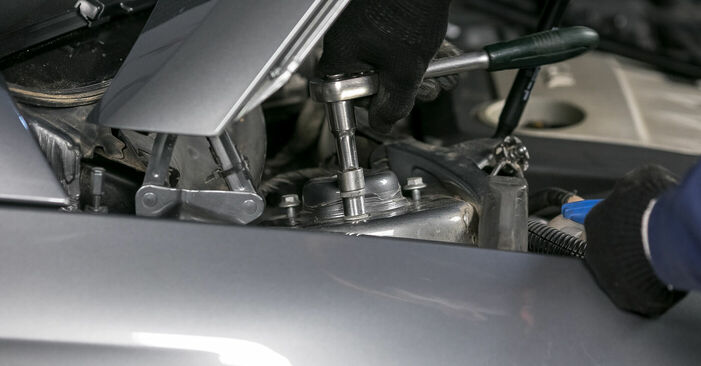 Wie VW PASSAT 2.0 TDI 4motion 2009 Domlager ausbauen - Einfach zu verstehende Anleitungen online
