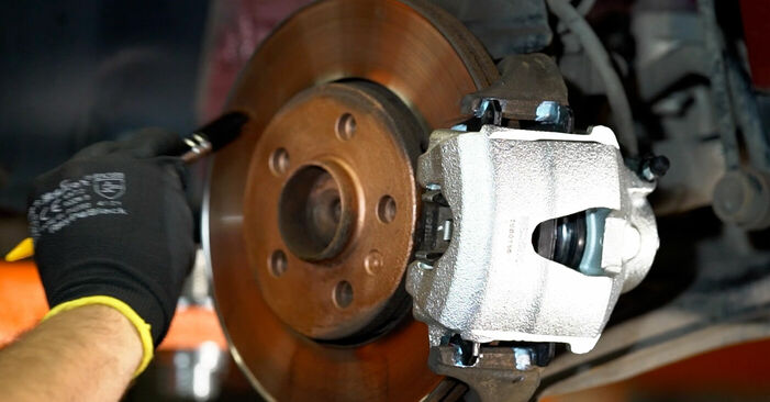 VW POLO 1.4 TDI Brake Calipers replacement: online guides and video tutorials
