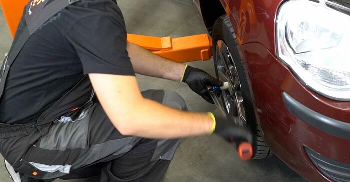 Kaip pakeisti VW POLO (9N_) 2001 Stabdžių apkaba - patarimai ir gudrybės