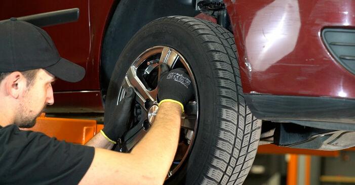 Savarankiškas VW POLO (9N_) 1.2 2004 Stabdžių apkaba keitimas