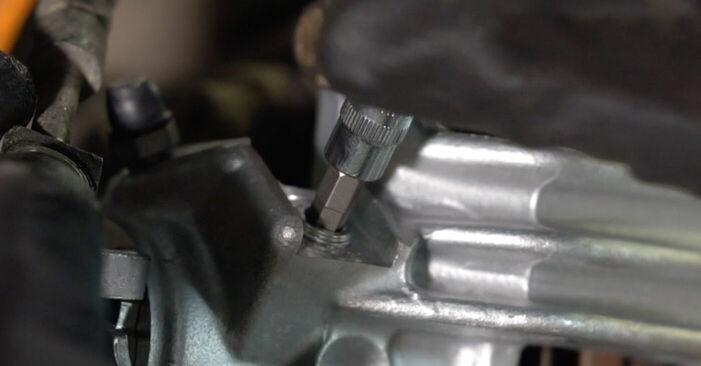 Wie man Bremssattel beim Audi A3 8l1 1996 wechselt - Gratis PDF- und Video-Tutorials