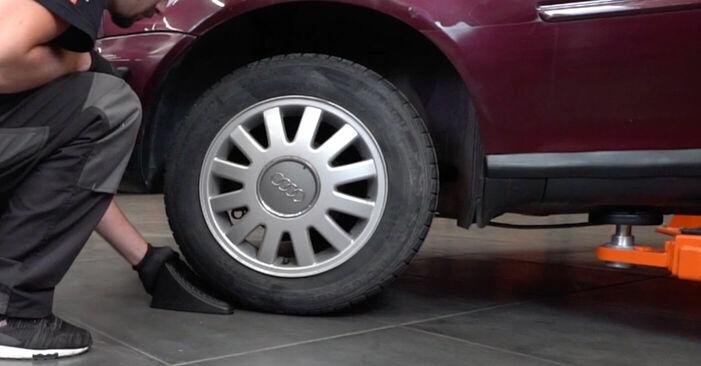 Wieviel Zeit nimmt der Austausch in Anspruch: Bremssattel beim Audi A3 8l1 1996 - Ausführliche PDF-Anleitung