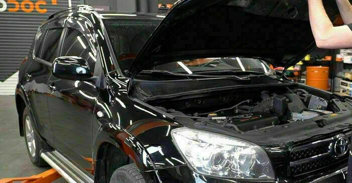 Comment changer Filtre à Huile sur Toyota RAV4 III 2005 - Manuels PDF et vidéo gratuits