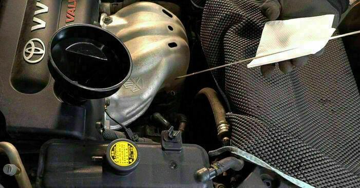 TOYOTA RAV4 2012 Filtre à Huile manuel de remplacement étape par étape