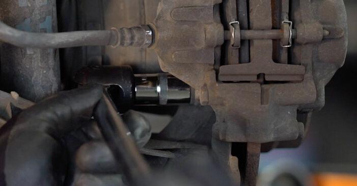 C-Klasse Limousine (W203) C 200 CDI 2.2 (203.007) 2003 C 180 1.8 Kompressor (203.046) Bremssattel - Handbuch zum Wechsel und der Reparatur eigenständig