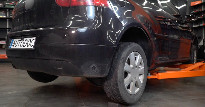 Byt Bromsok på VW Golf V Hatchback (1K1) 1.6 FSI 2007 själv