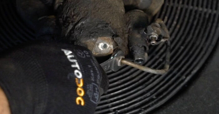 Passat 3b5 1.8 T 1998 Brake Calipers replacement: free workshop manuals