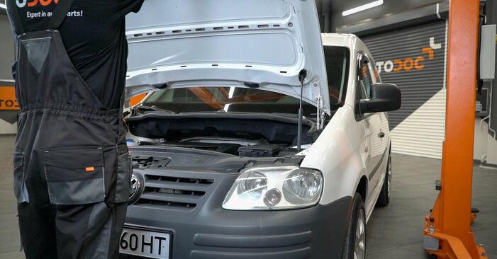Wie Luftfilter VW Caddy 3 Kombi 1.9 TDI 2004 tauschen - Kostenlose PDF- und Videoanleitungen