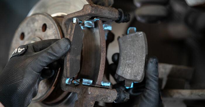 Bremssattel VW Caddy 3 Kombi 2.0 EcoFuel 2006 wechseln: Kostenlose Reparaturhandbücher