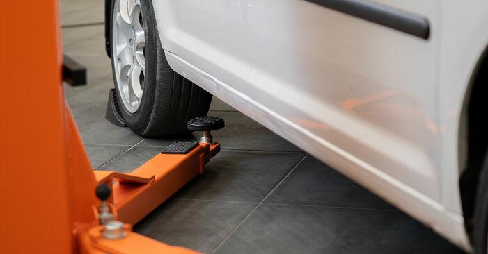 Wechseln Bremssattel am VW CADDY III Estate (2KB, 2KJ, 2CB, 2CJ) 1.6 2007 selber