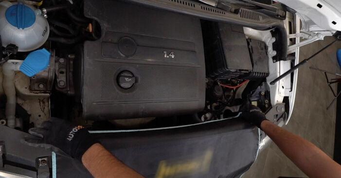 Wie Zündkerzen VW CADDY III Estate (2KB, 2KJ, 2CB, 2CJ) 1.6 TDI 2005 austauschen - Schrittweise Handbücher und Videoanleitungen