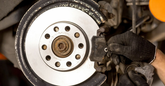 Changing of Brake Pads on Audi A4 b6 2003 won't be an issue if you follow this illustrated step-by-step guide