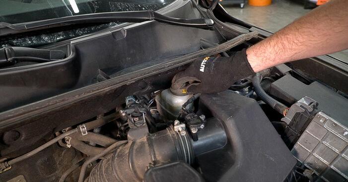 Hur byta Bromsskivor på Toyota RAV4 III 2005 – gratis PDF- och videomanualer