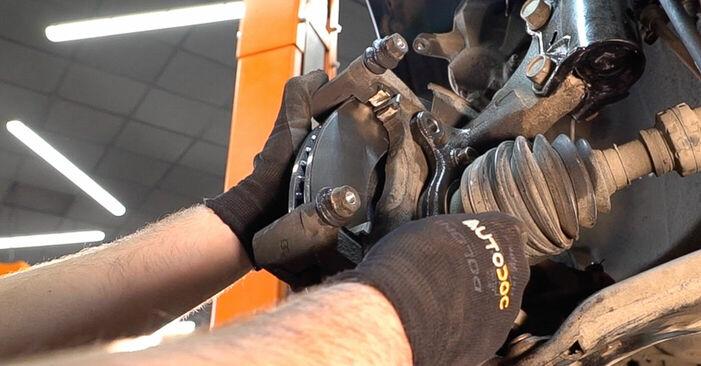 Wechseln Bremsscheiben am TOYOTA RAV 4 III (ACA3_, ACE_, ALA3_, GSA3_, ZSA3_) 2.0 4WD (ZSA30_) 2008 selber