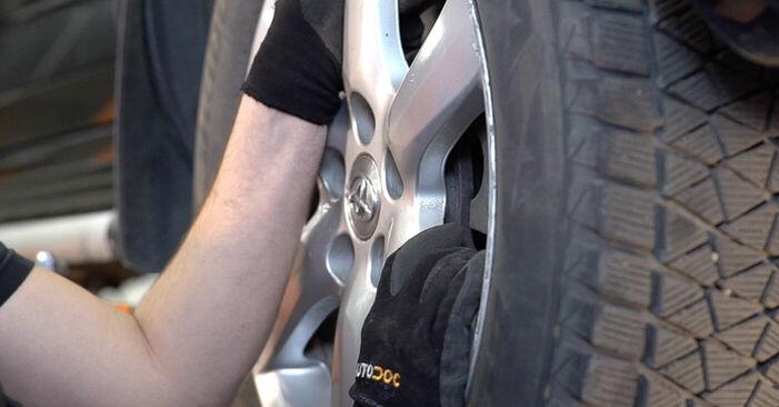 RAV 4 III (ACA3_, ACE_, ALA3_, GSA3_, ZSA3_) 2.0 (ZSA35_) 2007 2.0 4WD (ACA30_) Bremsscheiben - Handbuch zum Wechsel und der Reparatur eigenständig