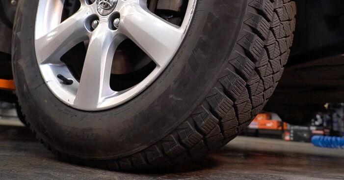 Zweckdienliche Tipps zum Austausch von Bremsscheiben beim TOYOTA RAV 4 III (ACA3_, ACE_, ALA3_, GSA3_, ZSA3_) 2.2 D (ALA35_) 2010