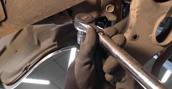 Replacing Anti Roll Bar Links on Toyota RAV4 III 2006 2.2 D 4WD (ALA30_) by yourself