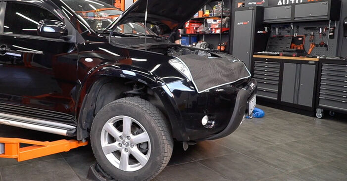 Toyota RAV4 III 2.0 4WD (ACA30_) 2007 Anti Roll Bar Links replacement: free workshop manuals