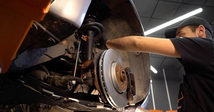 Renault Scenic 2 2005 1.9 dCi Kuro filtras keitimas savarankiškai
