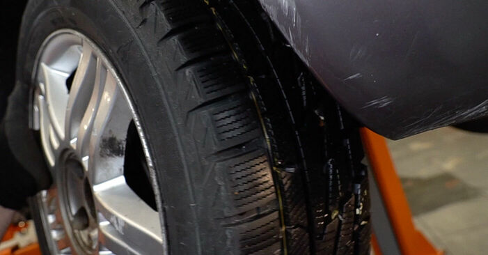 Ar sudėtinga pasidaryti pačiam: Renault Scenic 2 1.9 dCi 2009 Kuro filtras keitimas - atsisiųskite iliustruotą instrukciją