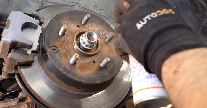 Hur byta Hjullager på Toyota RAV4 III 2005 – gratis PDF- och videomanualer