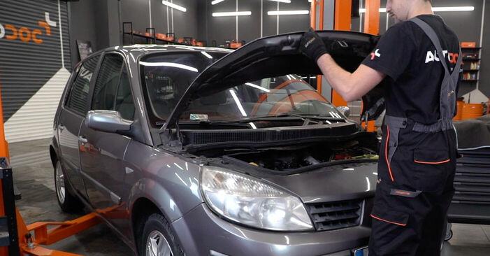 Wie Luftfilter Renault Scenic 2 1.9 dCi 2003 tauschen - Kostenlose PDF- und Videoanleitungen