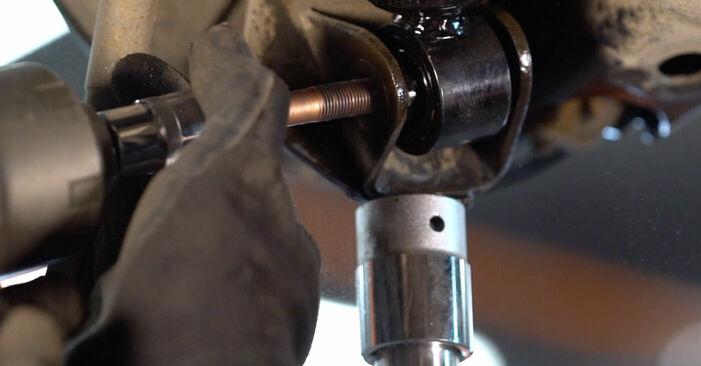 Austauschen Anleitung Querlenker am Toyota RAV4 III 2006 2.2 D 4WD (ALA30_) selbst