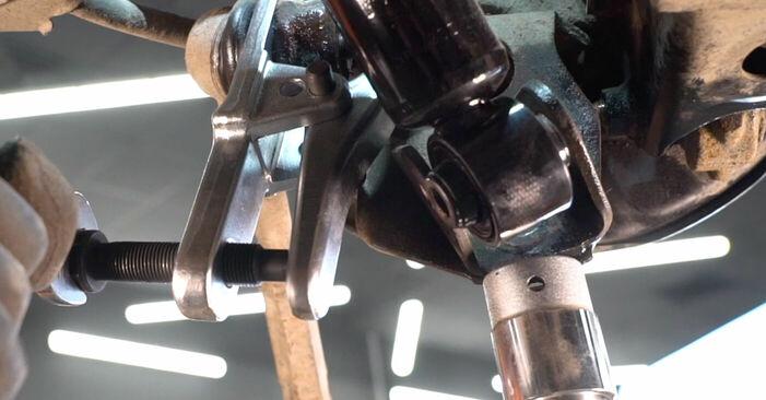 Wie Querlenker Toyota RAV4 III 2.2 D 4WD (ALA30_) 2005 tauschen - Kostenlose PDF- und Videoanleitungen