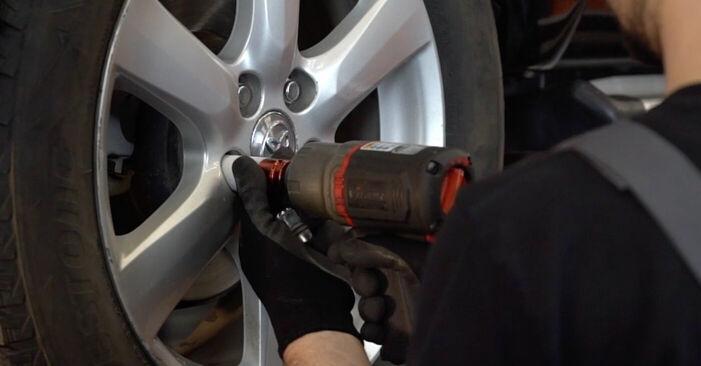 Querlenker Toyota RAV4 III 2.2 D (ALA35_) 2007 wechseln: Kostenlose Reparaturhandbücher