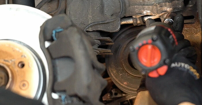 Austauschen Anleitung Querlenker am Renault Scenic 2 2005 1.9 dCi selbst