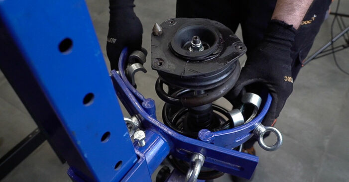 Need to know how to renew Springs on RENAULT SCÉNIC ? This free workshop manual will help you to do it yourself