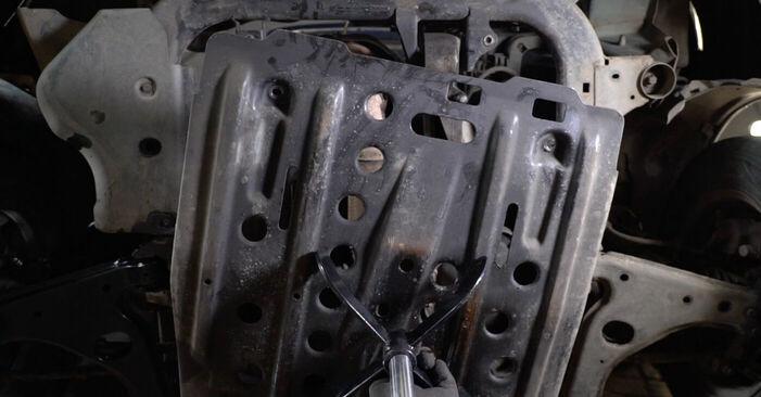 OPEL Astra G CC (T98) 1998 Motor csapágyzás csere - tippek és trükkök