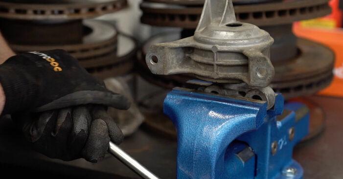Смяна на Opel Astra g f48 1.6 (F08, F48) 2000 Окачване на двигателя: безплатни наръчници за ремонт