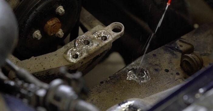 Не е трудно да го направим сами: смяна на Окачване на двигателя на Opel Astra g f48 2.0 DI (F08, F48) 2004 - свали илюстрирано ръководство