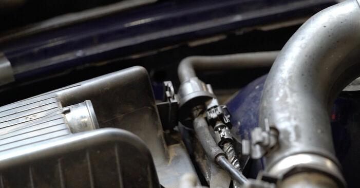 Motor csapágyzás OPEL Astra G CC (T98) 2003 csere - töltsön le PDF útmutatókat és utasításokat tartalmazó videókat