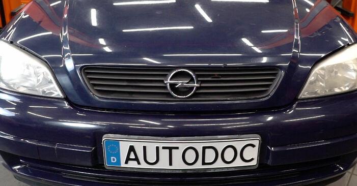 Önálló Opel Astra g f48 2008 1.6 16V (F08, F48) Motor csapágyzás csere