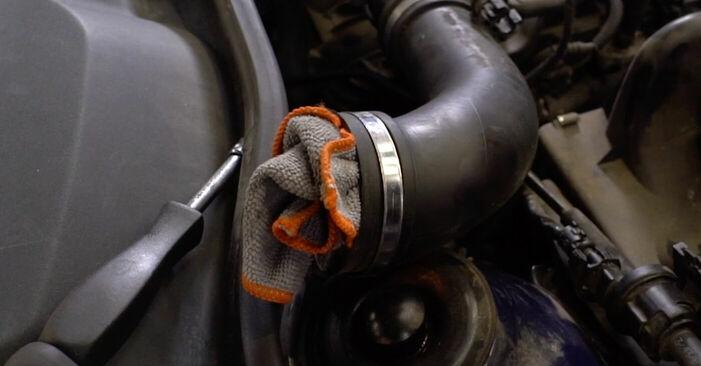 OPEL ASTRA 1.7 DTI 16V (F08, F48) 2002 Motor csapágyzás eltávolítás - online könnyen követhető utasítások