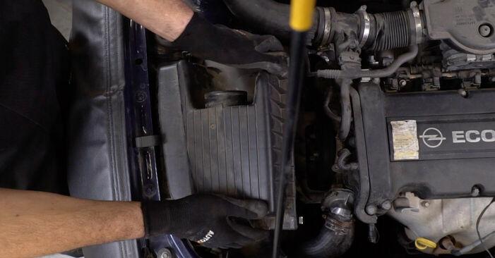 Cât de greu este să o faceți singur: înlocuirea Suport motor la Opel Astra g f48 2.0 DI (F08, F48) 2004 - descărcați ghidul ilustrat