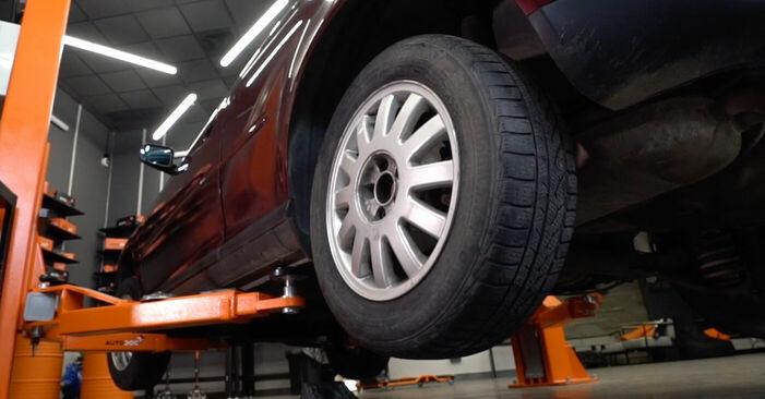 Audi A3 8l1 1.8 T 1998 Federn wechseln: Gratis Reparaturanleitungen