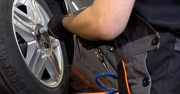 How to replace RENAULT SCÉNIC II (JM0/1_) 1.9 dCi 2004 Brake Discs - step-by-step manuals and video guides