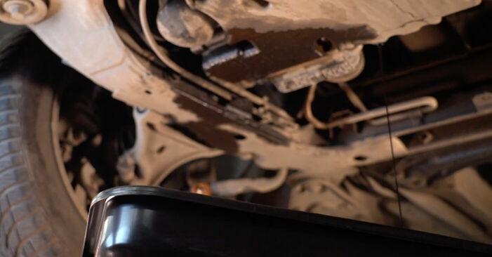 Cik ilgu laiku aizņem nomaiņa: Volvo V70 SW 2007 Eļļas filtrs - informatīva PDF rokasgrāmata