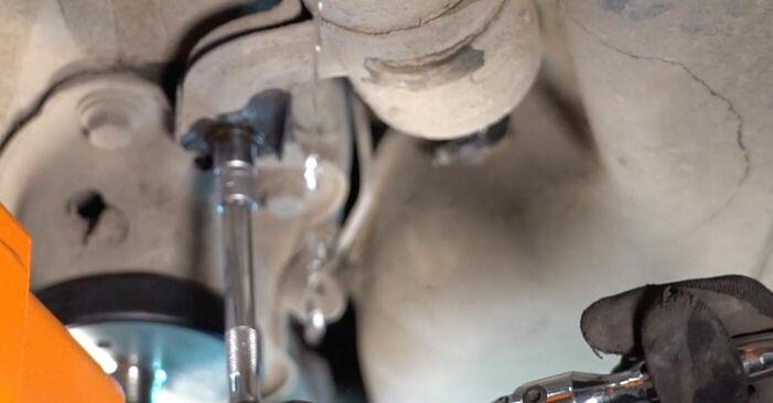 VOLVO V70 2006 Degvielas filtrs pakāpeniska nomaiņas rokasgrāmata